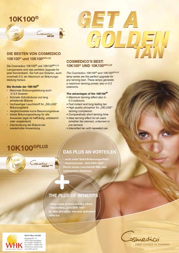Cosmedico 10K100 Solariumröhren