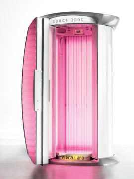 MegaSun Tower Space 3000 pure Collagen - offen -
