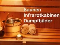 Sauna kaufen, Infrarotkabinen kaufen Dampfbäder kaufen