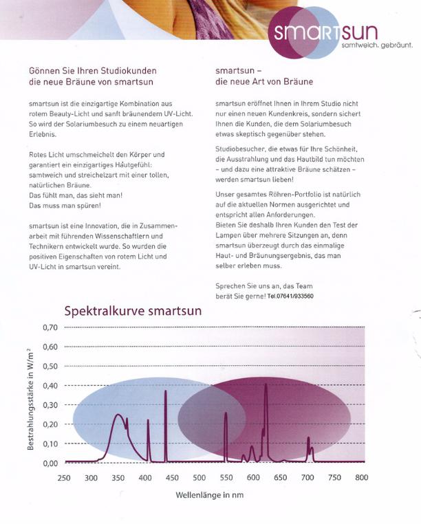 SmartSun - Solariumröhre