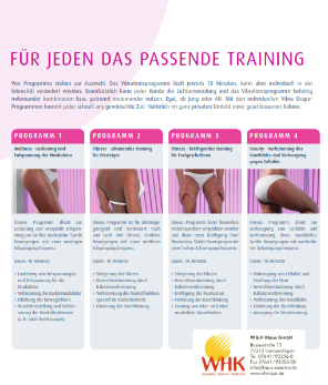 Training mit Vibra-Shape