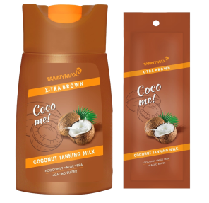 XTRA BROWN COCONUT Tanning Milk Coco me! -Tannymaxx