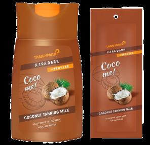 XTRA DARK COCONUT Bronzing Milk -Coco me!- von Tannymaxx
