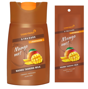 XTRA DARK MANGO Tanning Milk + Bronzer - Mango me! Tannymaxx
