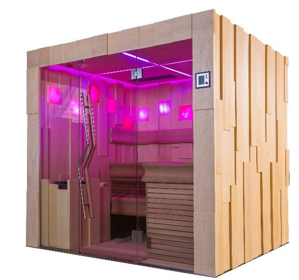 sauna premium l f r bis drei personen. Black Bedroom Furniture Sets. Home Design Ideas