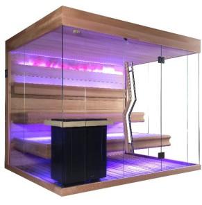 Dr. Kern Panorama Sauna XL für 4 personen