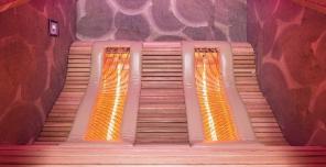 Chaleur-Lounge Infrarotlichtkabine