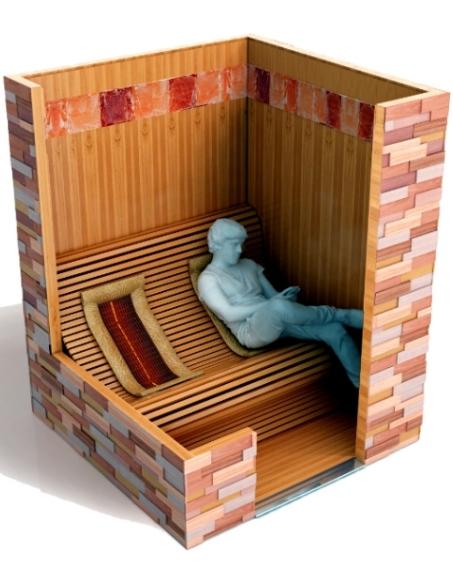 infrarotkabine relax lounge. Black Bedroom Furniture Sets. Home Design Ideas
