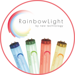 Rainbow Light - Regenbgen-Solariumröhren
