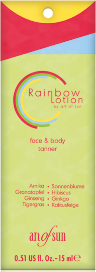 Rainbow Lotion Sachet 15 ml
