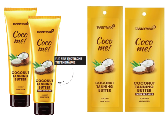 Coco me Coconut Tanning Butter - Tannymaxx Bräunungskosmetik