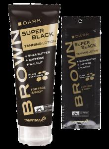 SUPER BLACK Tanning Lotion von Tannymaxx