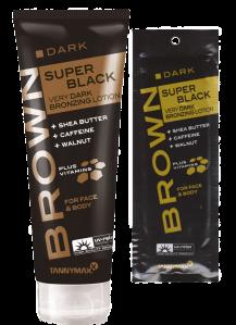 SUPER BLACK VERY DARK Bronzing Lotion- Bräunungslotion von Tannymaxx