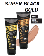 SUPER BLACK GOLD - aus der BROWN - LINIE von Tannymaxx - Bräunungslotion