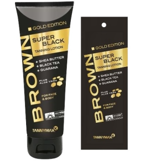 SUPER BLACK GOLD Tanning Lotion - Bräunungslotion von Tannymaxx