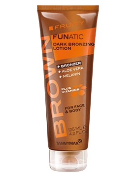 Brown FRUITY FUNATIC Dark Bronzing Lotion - Bronzer von Tannymaxx
