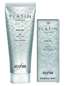 PLATIN - Dark Tan Lotion Solariumkosmetik Art of Sun