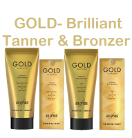 GOLD Brilliant Tanner + Bronzer - Bräunungslotion
