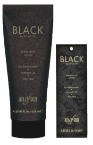 Black - Super Dark Tanner Bräunungslotion