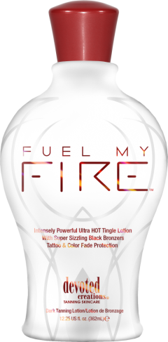 Fuel my Fire Tingle Lotion Bronzer mit Tattoo Schutz von DCvon DC