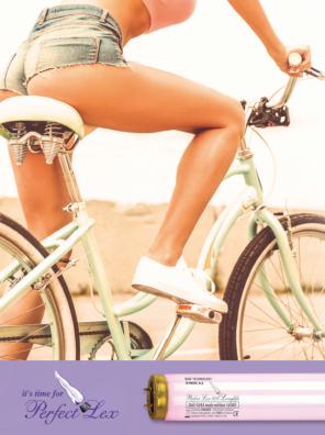 Perfect Lex-für perfekt gebräunte Beine -Solariumröhren