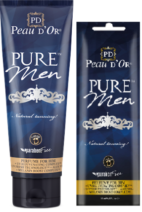 PURE Men Bräunungslotion von Peau d`Or