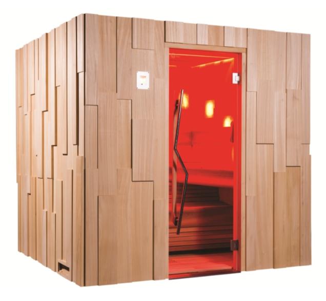 Fabulous Sauna Premium XL für bis zu vier Personen IK28